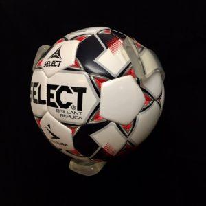 1 stk BallOnWall Klar Fodboldholder
